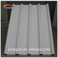 Ondulato lastre di copertura in plastica/plastica coperture/lamiera ondulata di copertura in pvc