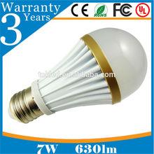 Alibaba website energy saving SMD5730 E27 7W LED bulb