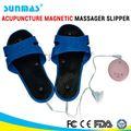sunmas saúde quente elétrica do pvc soft nu magnética acupuntura massager chinelo