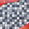 ks237 pietra grigia mattonelle di mosaico murale di marmo decoro mosaico mosaico di marmo schema di posa foto