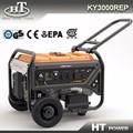 6kw potencia eléctrica portátil generador de gasolina