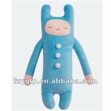 Endearing Plush Stuffed alien body Transforming Pillow