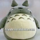 plush kawaii totoro pillow pad, animal shape cushion for sale