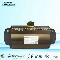 Die-cast aluminum quarter turn pneumatic actuators with good quality