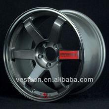 Japan rays volk racing te37 chrome replica alloy wheel