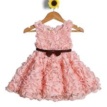 Korean Children Clothing Birthday Dress For Baby Girl Dresses For Girls Of 7 Years Old