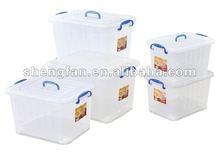 plastic storage box storage case