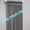 6mm pearl black painted metal ball chain string curtain