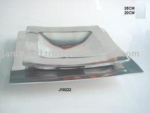 Cast Aluminium Plate in Mirror polish also available in food safe Aluminium