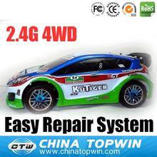 1:10 Scale Nitro Powered Rally Car cast iron model cars