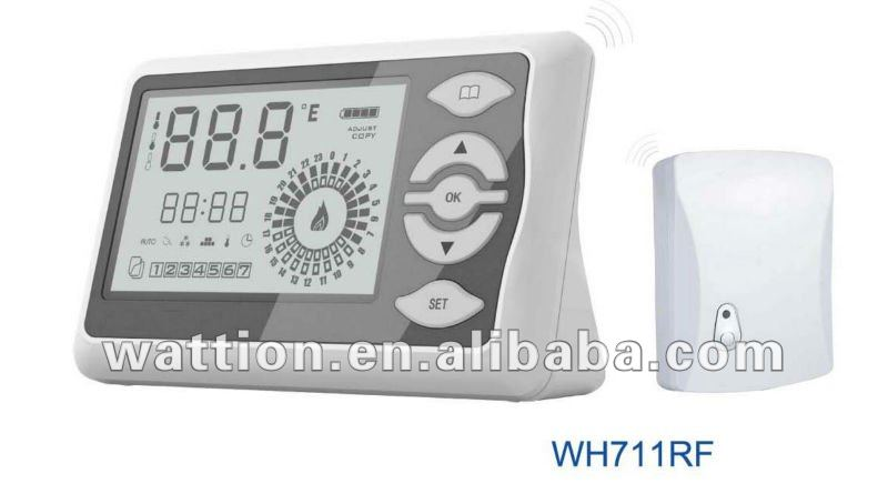 thermostat d 39 ambiance sans fil instrumentation de. Black Bedroom Furniture Sets. Home Design Ideas