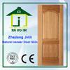 HDF/mdf 3mm natural teak veneer molded door skin JL-V0805