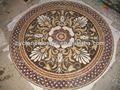 Marmor mosaik wandbild, fliese runde mosaik medallion bodenmuster