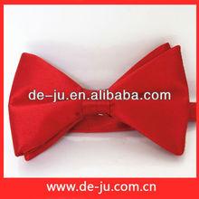Promotion Wedding Fashion Accessories Bridegroom Groom Red Bow Tie