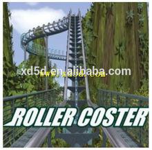 hot sale 7d cinema hydraulic platfrom 7d film roller coaster in Guangzhou