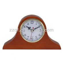 home decoration wooden standing mantel clocks