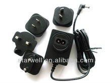 12V 1A Interchangeable Plug Adapter