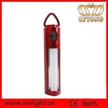 0.5W+2 led multifunction plastic handle camping led lantern light