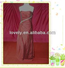 discount petite taffeta evening dress 2012