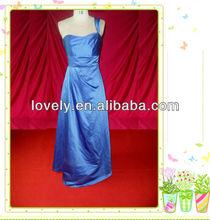 turkish one-shoulder real sample evening dress 2012