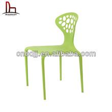2015 super calidad y precio bajo plástico brillante muebles de color, Silla de plástico, Sólido silla