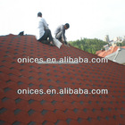 Mosaic bitumen shingle