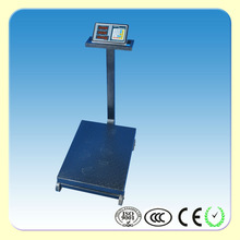 TCS 300kg LED Electronic Weighing Platform Wheel Scale