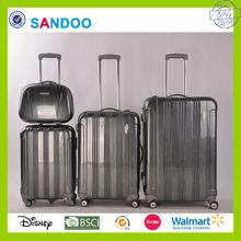 2014 alibaba china PC polo luggage sets