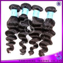 Accept paypal wholesale 6A unprocessed virgin human hair 100% virgin peruvian hair free weave hair packs