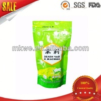 resalable stand bag for food packaging with zipper bag with heat seal packaging