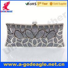 Customized new fashion Glitter python clutch bag U0011-091