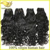 Unprocessed remi hair and romance curl hair weave factory price supply 100% virgin peruvian hair