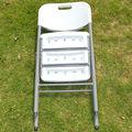 Silla plegable de plástico para exteriores / taburete plegable / silla de playa / silla de balcón