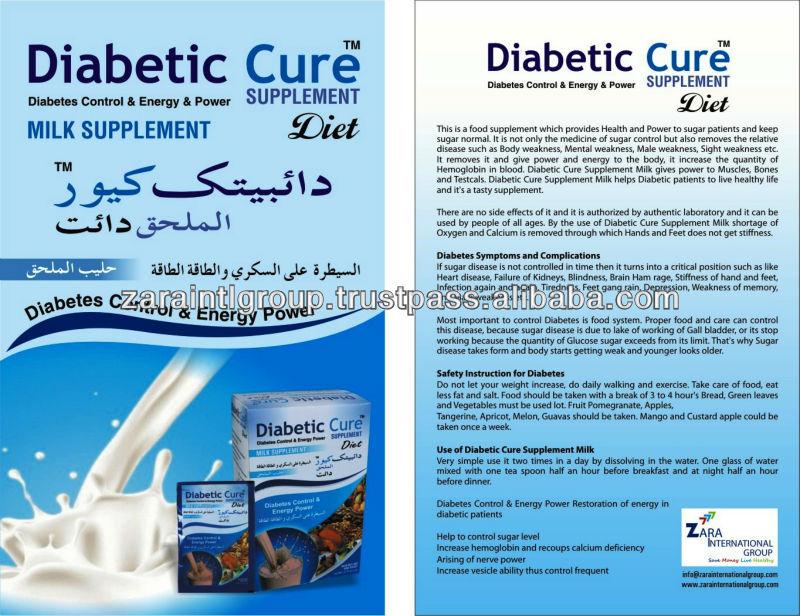 Diabetic Cure Supplement Milk