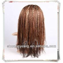 T#2/#6/#14/#25#/#7 fashionable hotsale braided wigs in stock