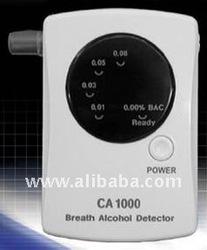 Portable breath alcohol analyzer