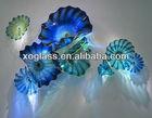 glass plates xo-2011511 and hand made decor glass art
