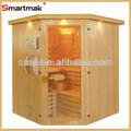 La computadora del panel de control característica en seco y de vapor sauna función/2014 de alta calidad de lujo tradicional sauna de vapor