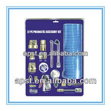 Neumático de accesorios kit/pistola de aire soplado/conector rápido
