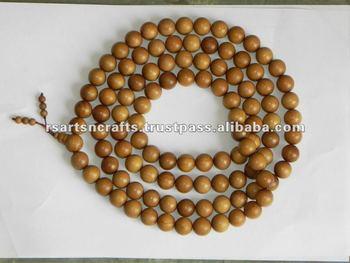 tibetan buddhist mala beads, sandalwood mala, rosary beads