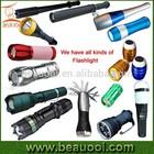 HOT!! all kinds of EDC Aluminum Heavy Duty led rechargeable flashlight