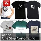 Custom mens round neck plain t-shirts wholesale