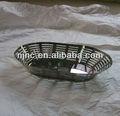 De acero inoxidable forma de riñón cesta de frutas made in China