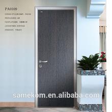 Frente a la puerta diseños, nuevo diseño de puerta de madera interior, dormitorio simple diseño de la puerta