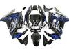 CBR600RR Fairing Kit for Honda CBR600 F3 1997-1998 CBR 600RR 1997 1998 CBR 600 97 98 cbr 600 f3 body kit black blue flames