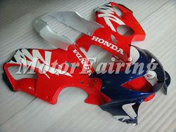 CBR600F4 Fairing Kit for Honda CBR600 F4 1999 2000 CBR 600 99 00 CBR600RR 1999-2000 CBR600 F4 cbr600 f4 fairings red blue silver