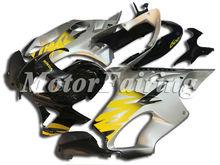 CBR600 F4 99 00 Fairing for Honda CBR600F4 99-00 CBR 600F4 99 00 CBR600 1999 2000 cbr 600 f4 ABS Silver Black yellow