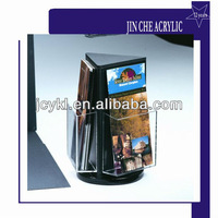 Rotating Acrylic Magazine/Propaganda/Brochure/Book Rack Holder/Pocket