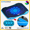 portable super slim 14inch notebook cooling pad, single cooling fan 5v usb laptop cooler