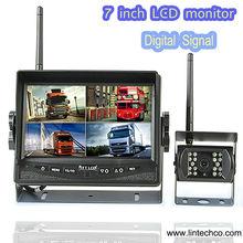 Promotion !!! 7 '' digital signal reversing camera kits for port crane